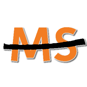Ms Multiple Sclerosis Awareness stampette logo image