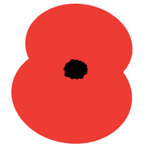 Poppy Day stampette avatar image for your twitter or facebook profile