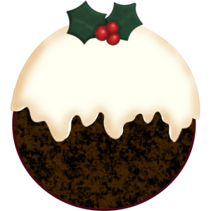 Christmas Pudding stampette avatar image