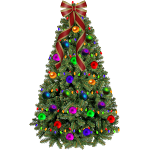 Christmas Tree with Bow stampette avatar image