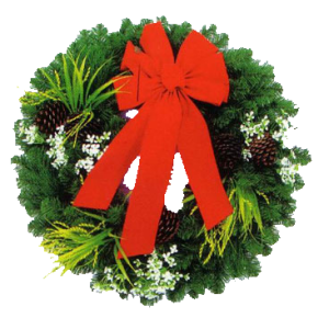 Christmas Wreath And Bow stampette avatar image