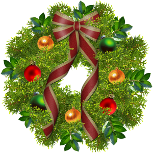 Christmas Wreath Fun Occasions Add A Free Stampette Logo To Your