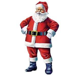 laughing santa clause stampette avatar image