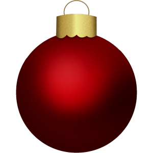 Christmas Red Bauble stampette avatar image