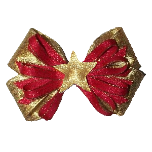 Red Bow and Star stampette avatar image