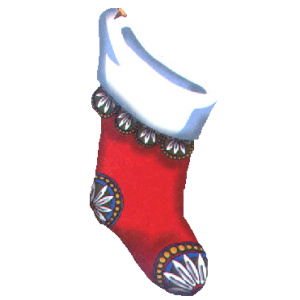 Red Christmas Stocking stampette avatar image
