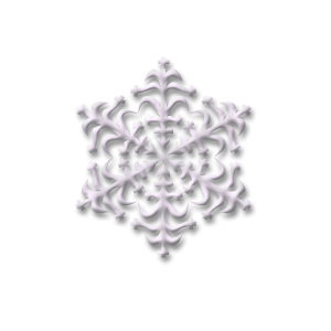 christmas snow flake five stampette avatar image
