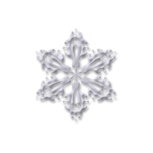 christmas snow flake four stampette avatar image
