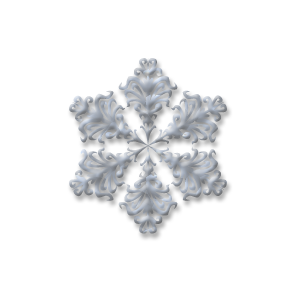christmas snow flake one stampette avatar image