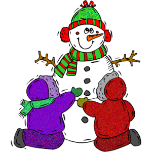 Christmas Snowman and Children stampette avatar image