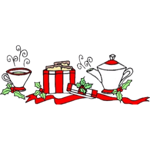 Christmas Tea Coffee And Presents stampette avatar image