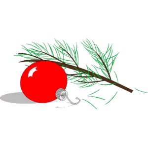 Christmas Tree And Bauble stampette avatar image