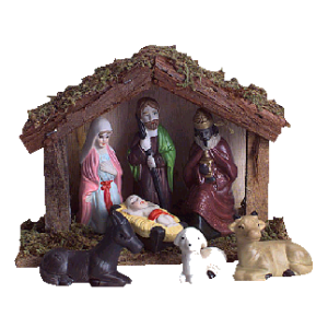 Wooden Nativity Scene stampette avatar image