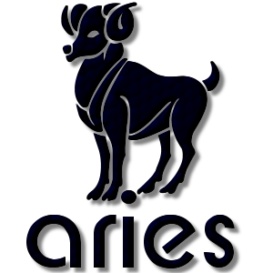 Aries Zodiac Sign Navy stampette avatar image