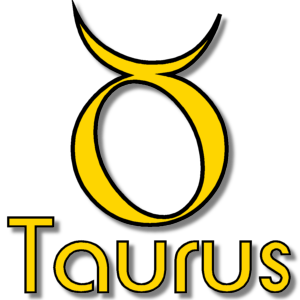 Taurus Zodiac Sign Yellow stampette avatar image